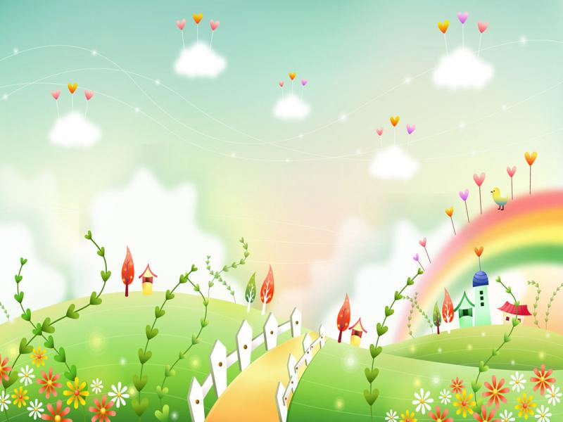 Cartoons Clipart Backgrounds