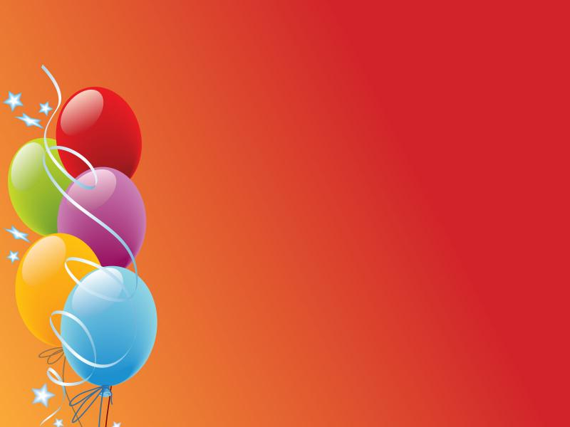 Celebration with balloons picture backgrounds for powerpoint celebration with balloons picture backgrounds toneelgroepblik Images