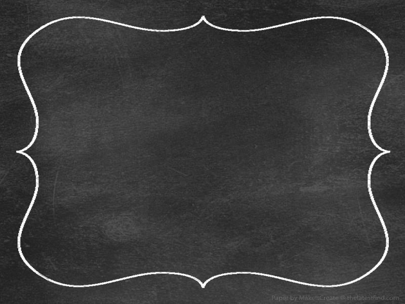 chalkboard paper border portrait walpaper clip art backgrounds for powerpoint templates