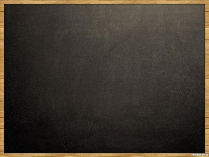 Chalkboard PowerPoint Slide Backgrounds