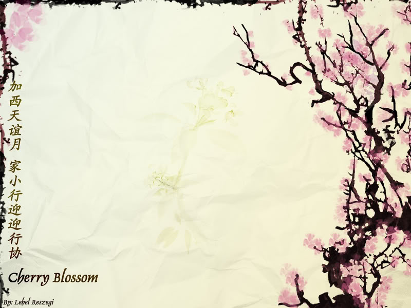 Cherry Blossom Presentation Backgrounds For Powerpoint Templates Ppt Backgrounds