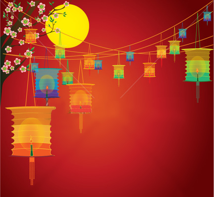 Chinese Free Lantern Festival   Wallpaper Backgrounds