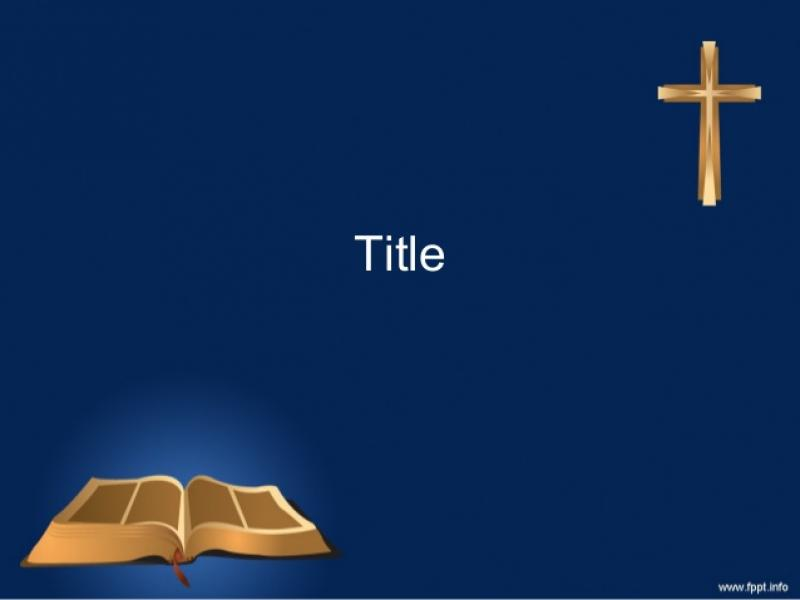 Christian Template Holy Bible Backgrounds