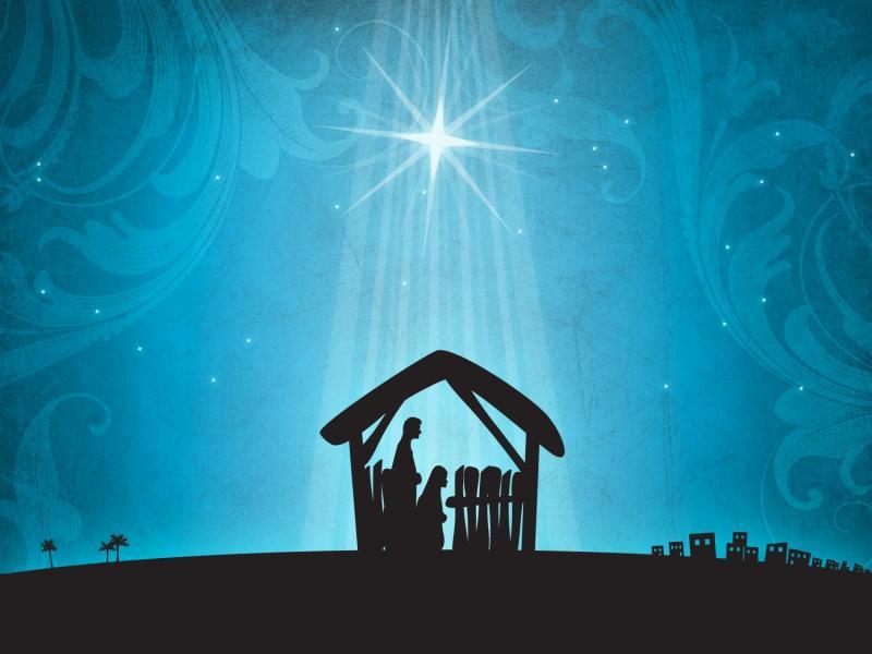 Christmas Nativity Quality Backgrounds