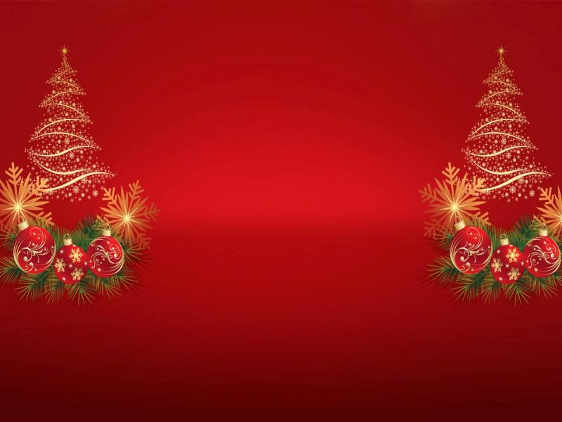 Christmas Tree Noel Template Backgrounds For Powerpoint Templates