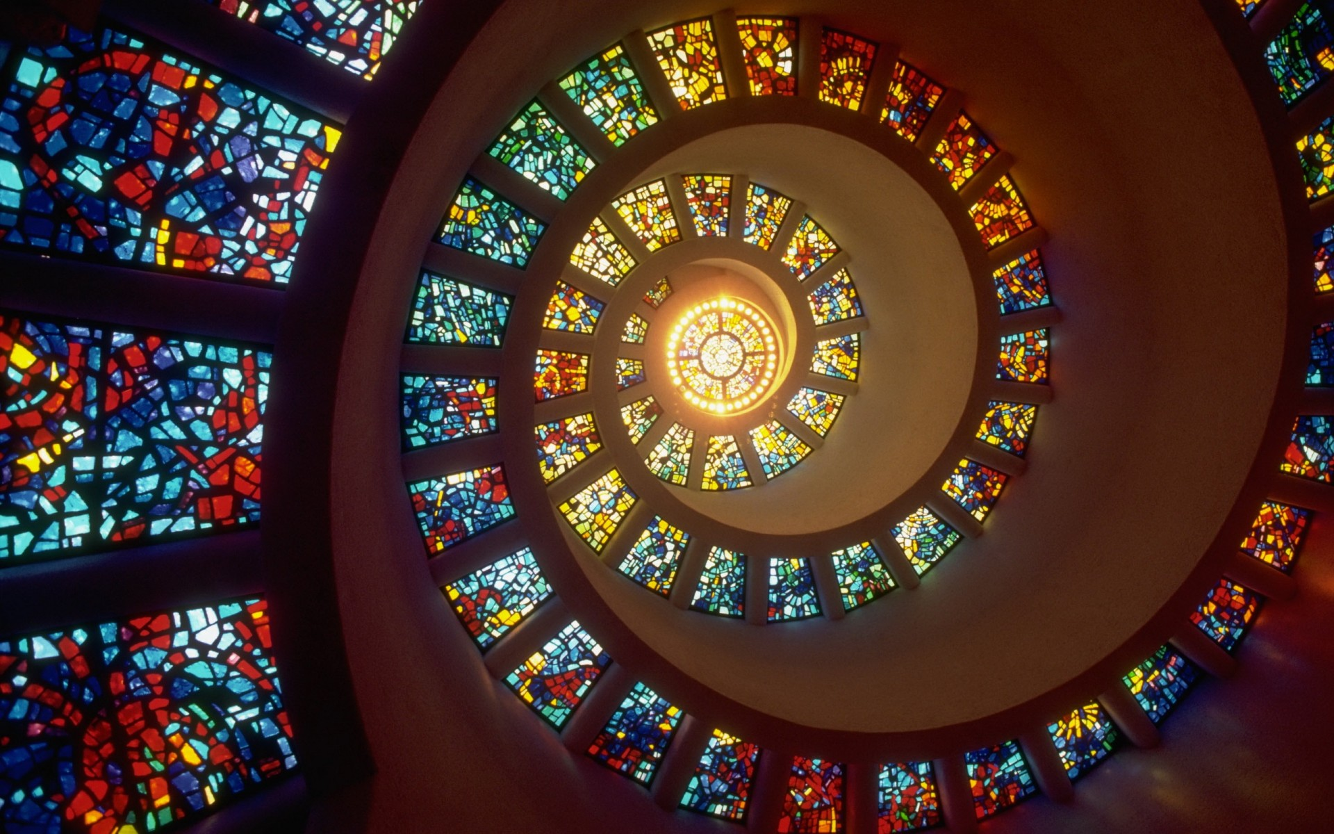 Circle Stained Glass Design Backgrounds For Powerpoint Templates Ppt Backgrounds