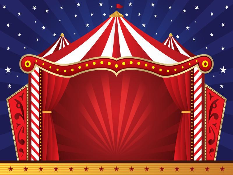 Circus Scene Backgrounds