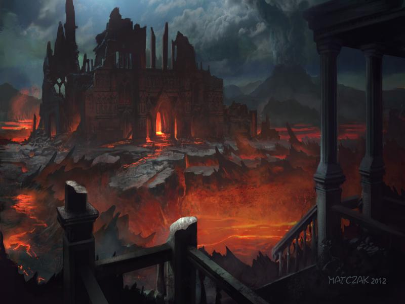 City Of Hell Quality Backgrounds