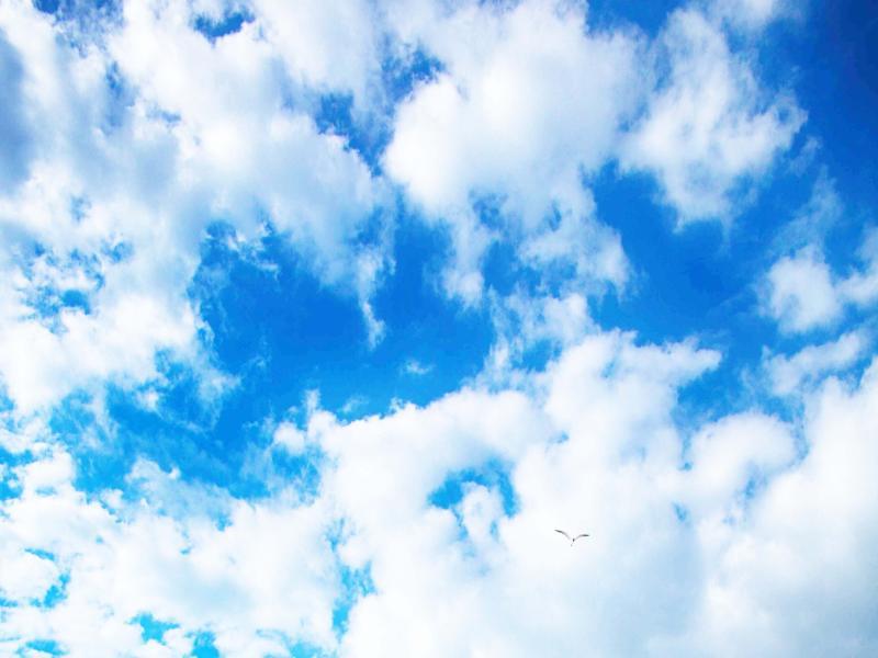 Clouds Blue Sky Slides Backgrounds