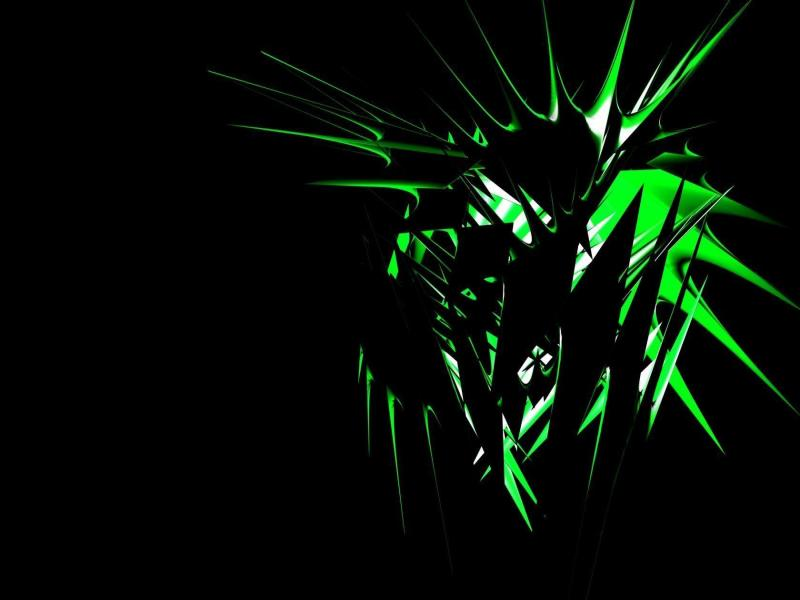 Cool Tribal Barbed Flower Template Backgrounds