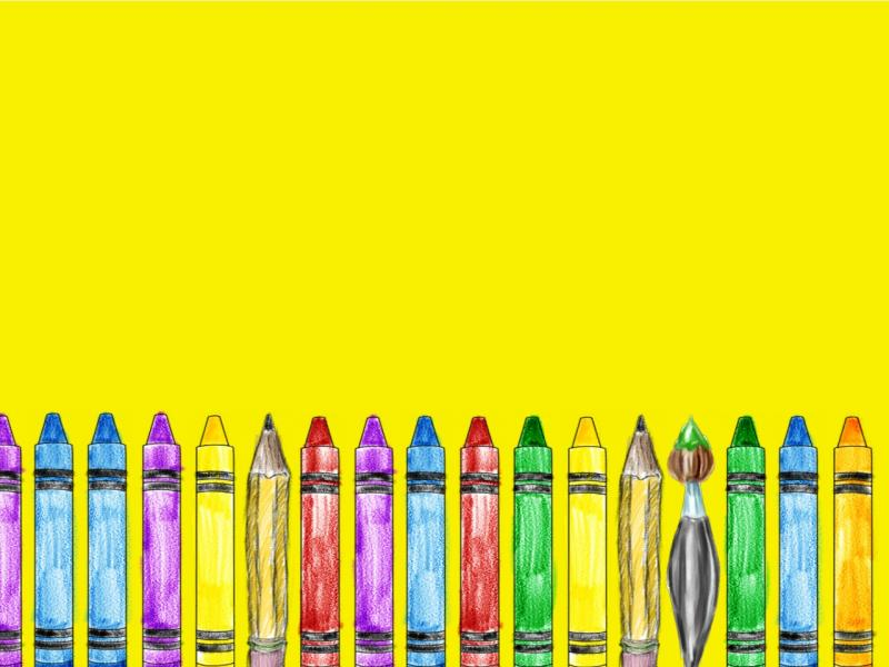 Crayon For Free School Certificate   Clipart Backgrounds