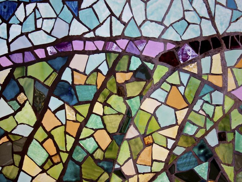 Create Mosaics Stained Glass Walpaper Clipart Backgrounds