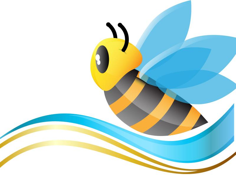 Cute Animal Bee Backgrounds
