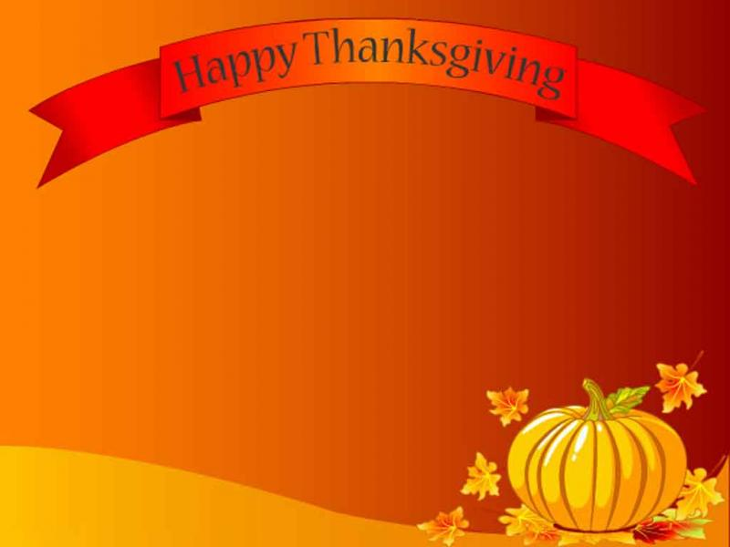 Cute Happy Thanksgiving 94269  NANOZINE Wallpaper PPT Backgrounds