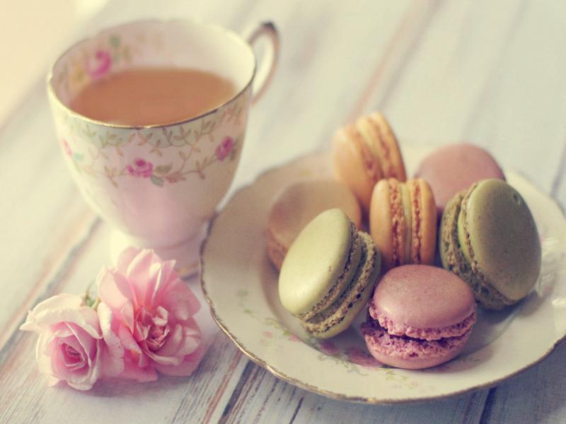 Cute Tea Art Backgrounds