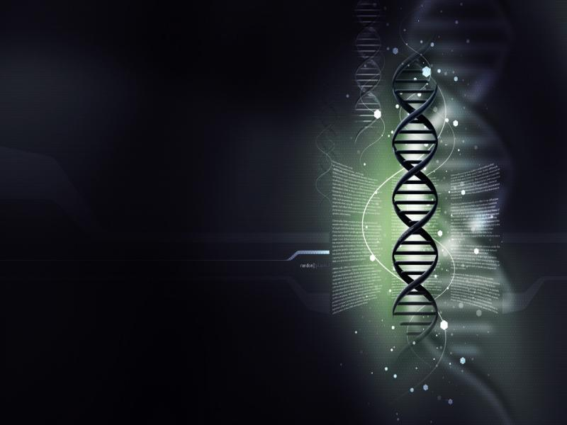 Dark Abstract DNA Art Backgrounds