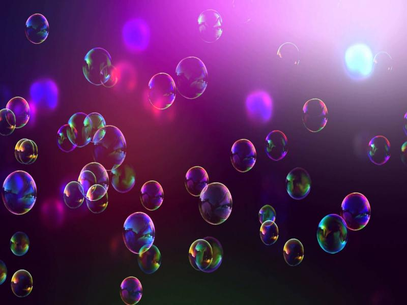 Dark Pink Bubbles Picture Backgrounds