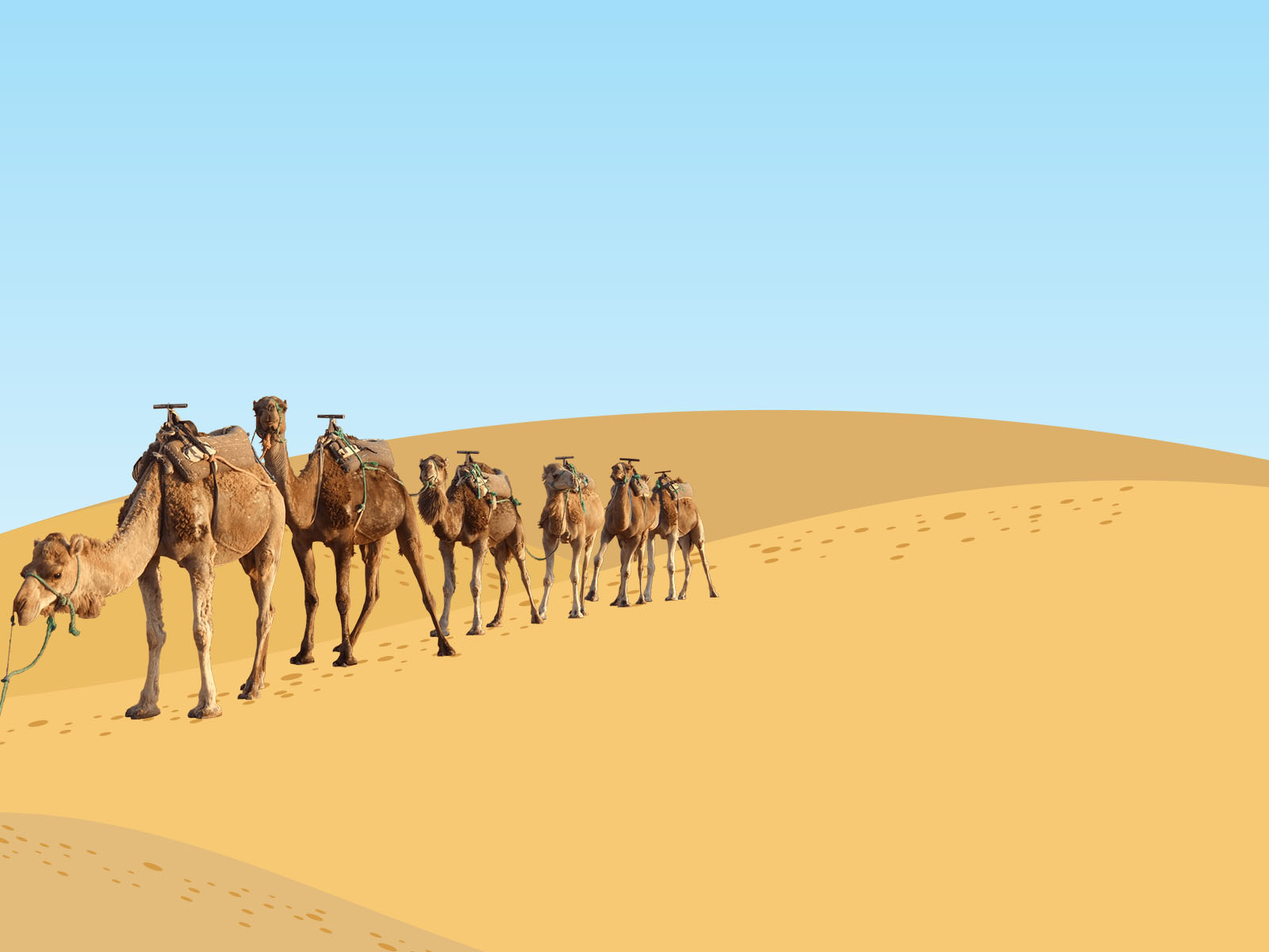 powerpoint templates free download desert images