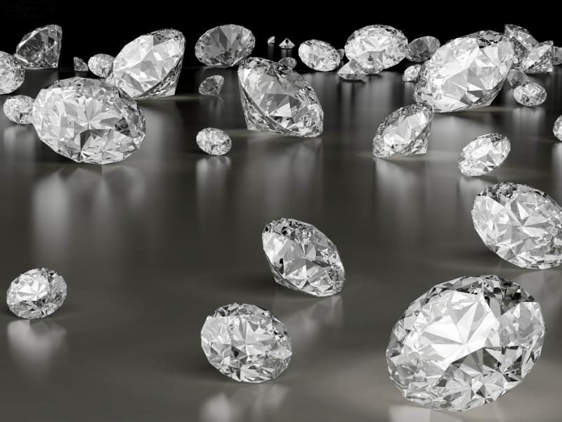 Diamond Frame Backgrounds for Powerpoint Templates - PPT Backgrounds