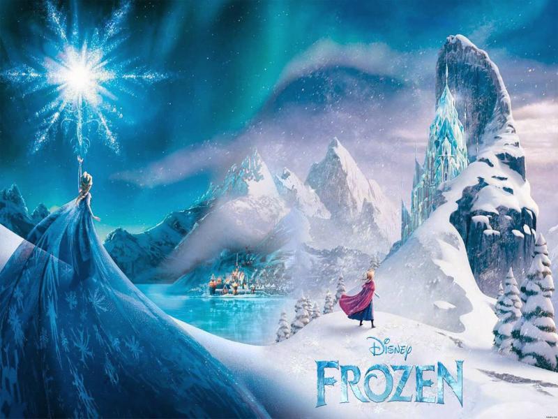 Disney Frozen Castle High Resolution Frozen Full   Art Backgrounds