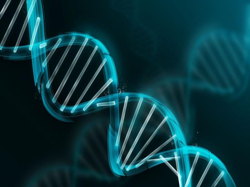 DNA Molecule Art Backgrounds