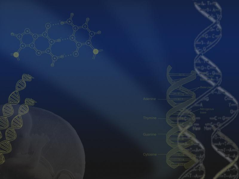 Dna Science Template Backgrounds For Powerpoint Templates