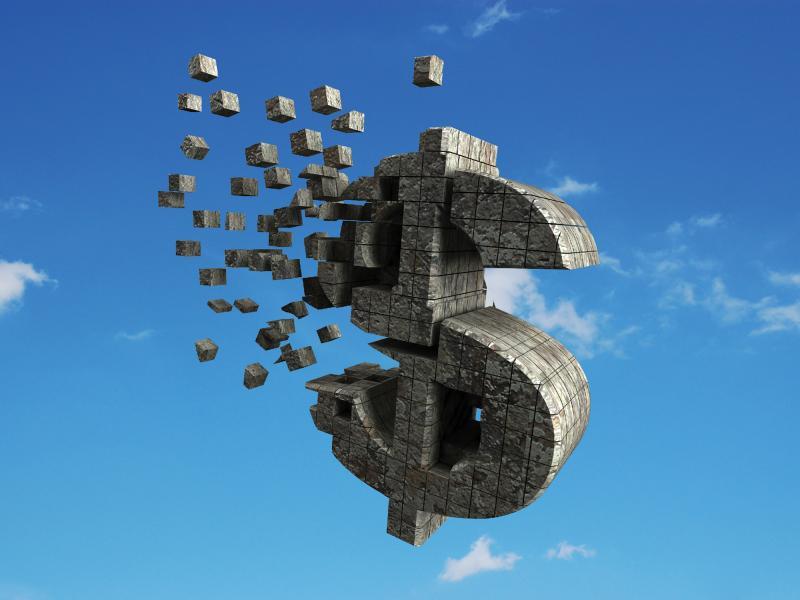 Dolar Money For Finance Slides Backgrounds