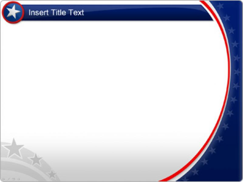 Download American PowerPoint Template Patriotic Graphic Backgrounds