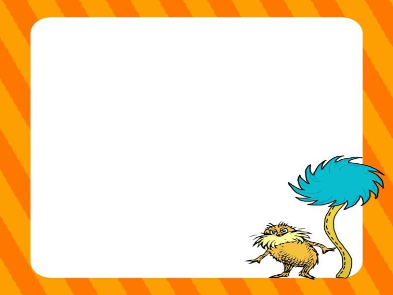 Dr Seuss Border Clipartion Photo Backgrounds