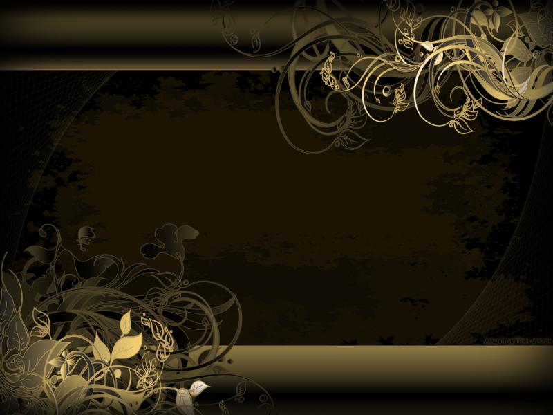 elegant black and gold 2 cool backgrounds for powerpoint
