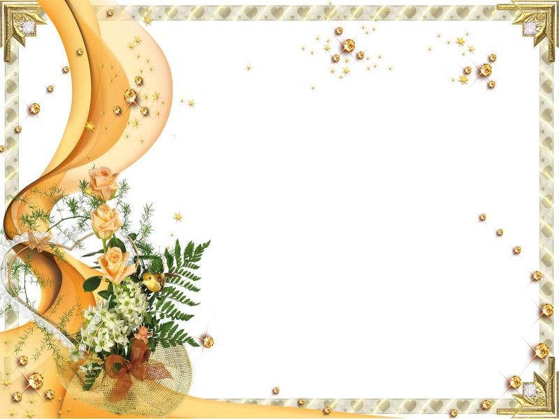 Elegant Wedding Invitation Frame Graphic Backgrounds