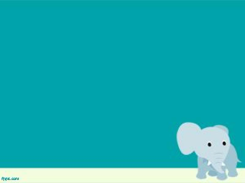 Elephant Powerpoint Template Ppt Template Slides Backgrounds For