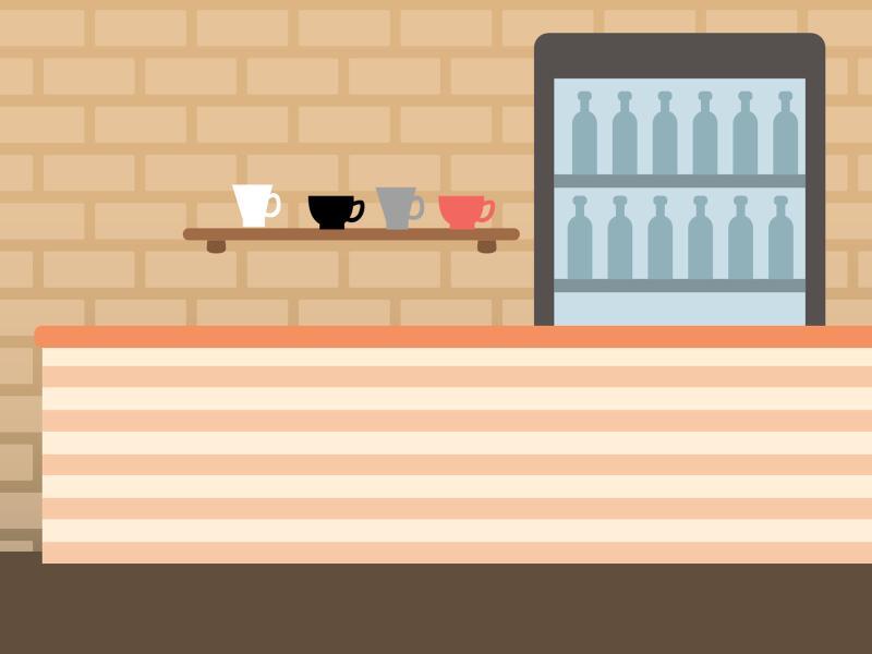 Empty Bar Backgrounds