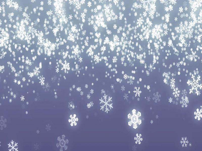 Falling Snowflakes Backgrounds
