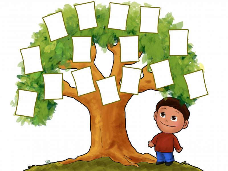 Family Tree Backgrounds For Powerpoint Templates Ppt Backgrounds