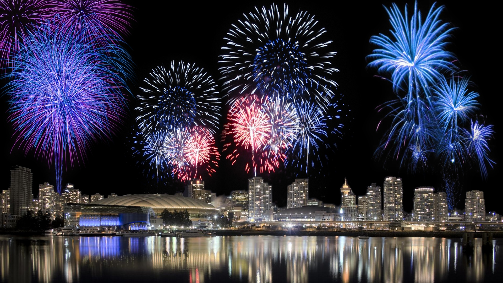 Fireworks HD Graphic Backgrounds