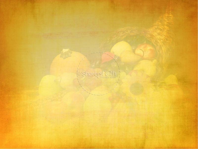 First Thanksgiving Sermon PowerPoint Fall Thanksgiving PowerPoints ...