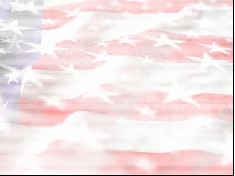 Flag  PPT TemplateAmerican Flag  PPT Backgrounds