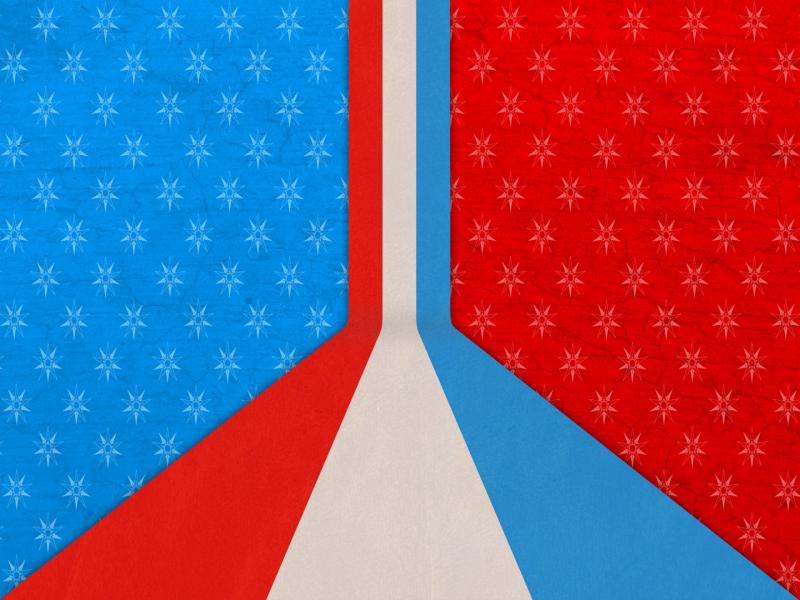 Flag Red White Blue Backgrounds