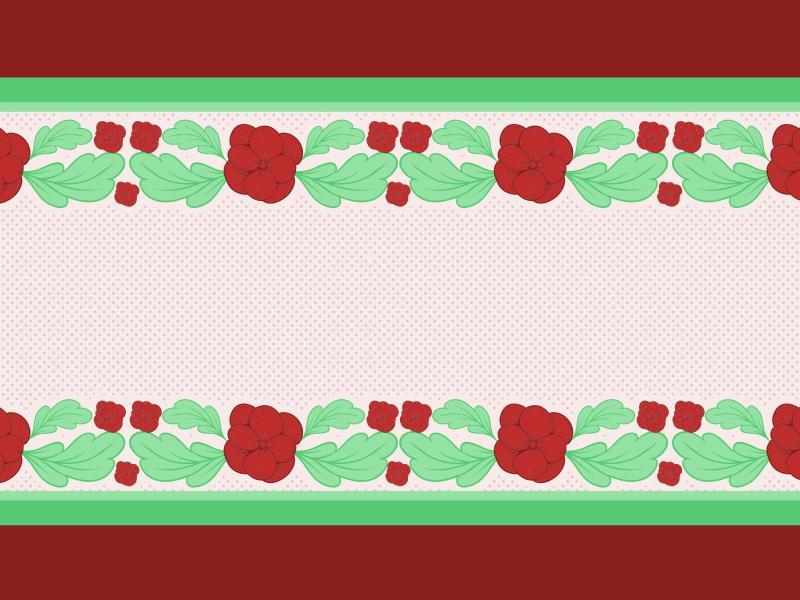 Flower Borders Backgrounds