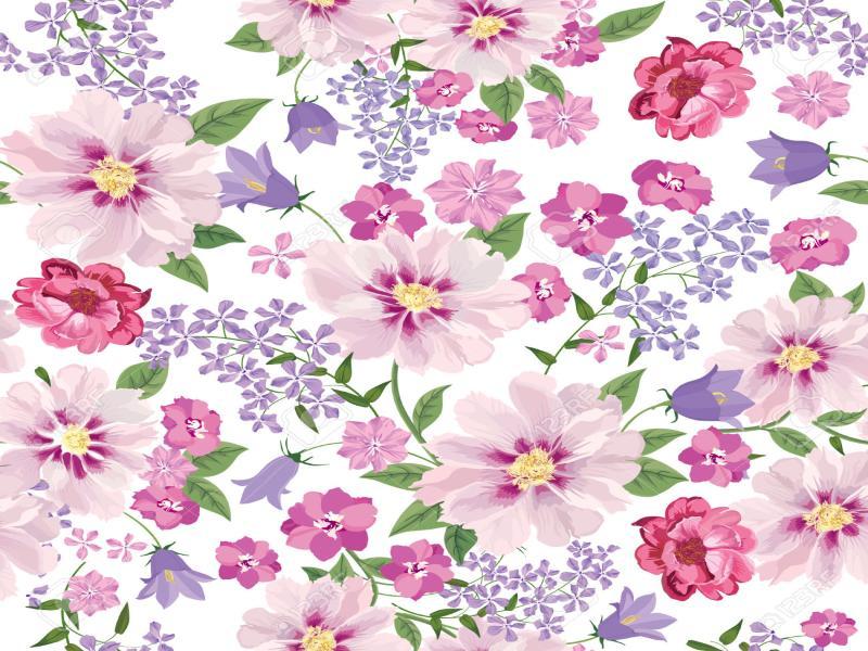 Flower Floral Tile Flowers For 1300 1300 Jpeg Art Backgrounds