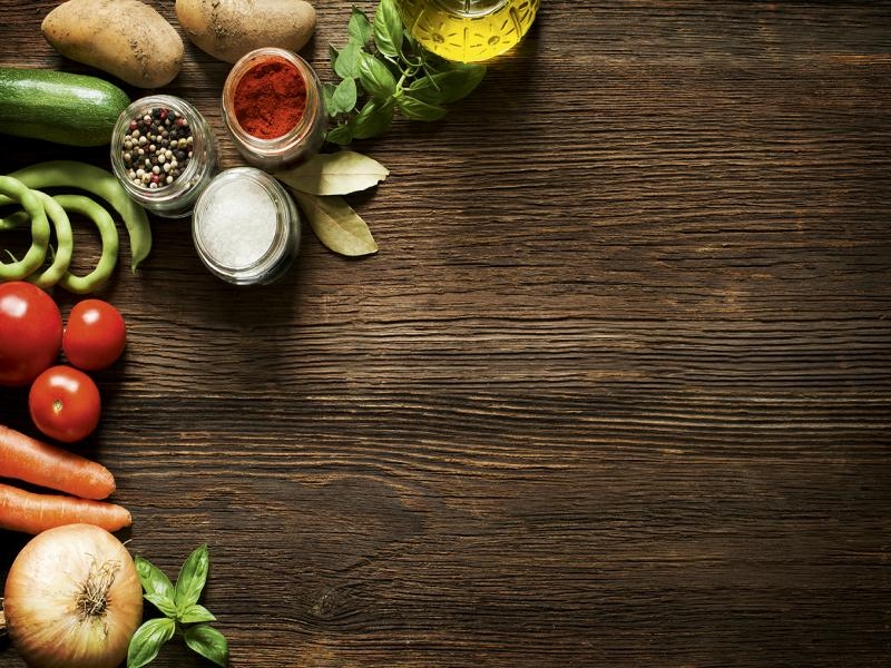 Food & Wood Template Backgrounds