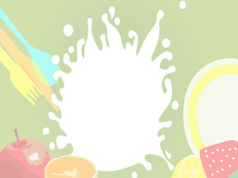 Food For Slides Download Backgrounds