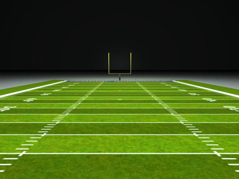 Football Field & Football   Art Backgrounds