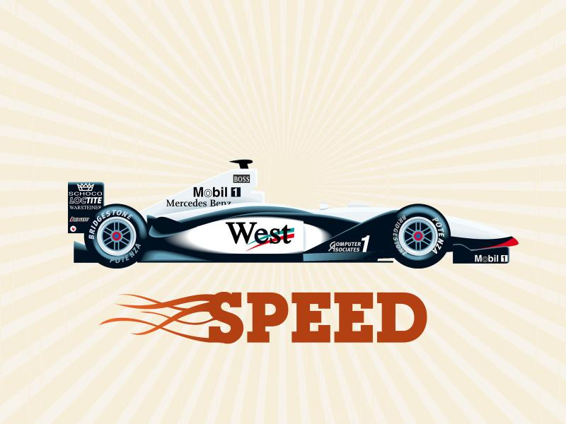 Formula 1 High Speed Car Backgrounds