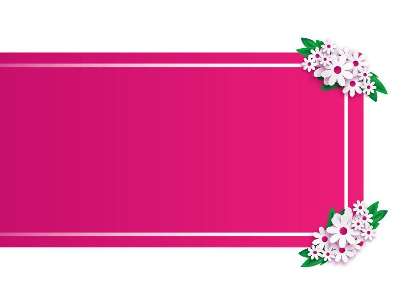 Frame Banner Slide Backgrounds