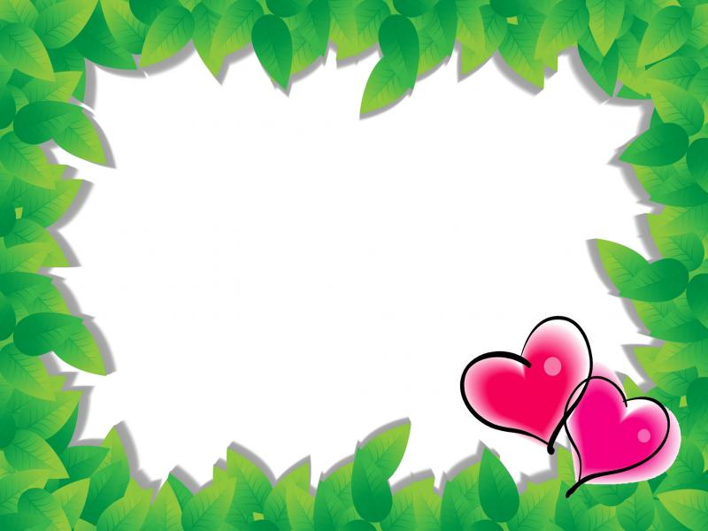 Frame of Love Backgrounds