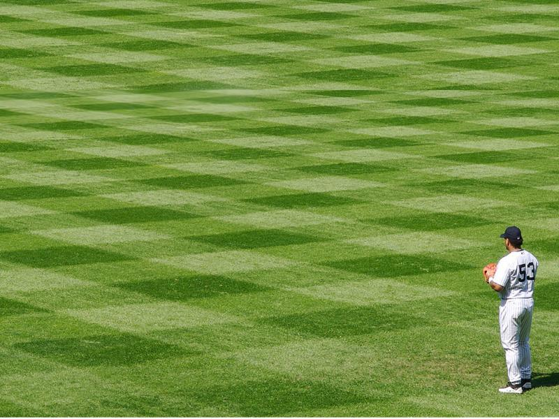 Free Baseball Fields For PowerPoint  Sports Photo Backgrounds