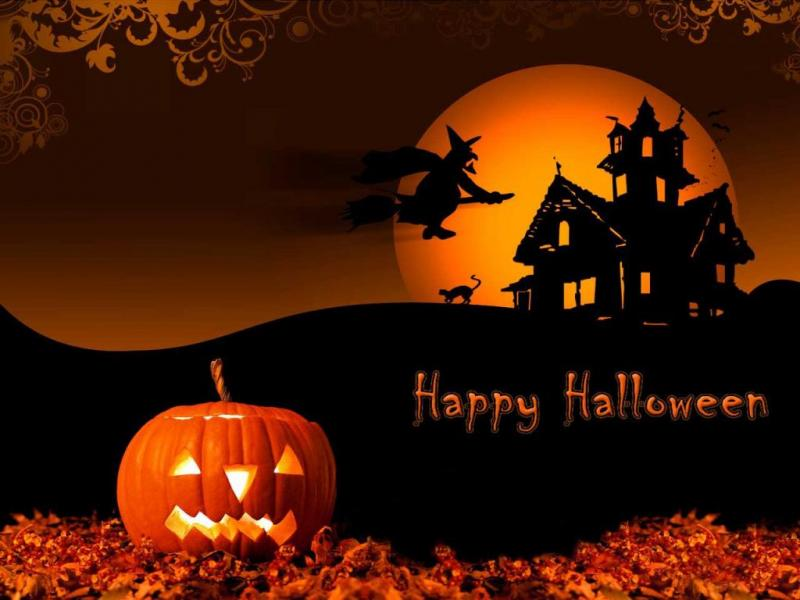 Free Halloween For Powerpoint Miscellaneous Ppt Clip Art Backgrounds