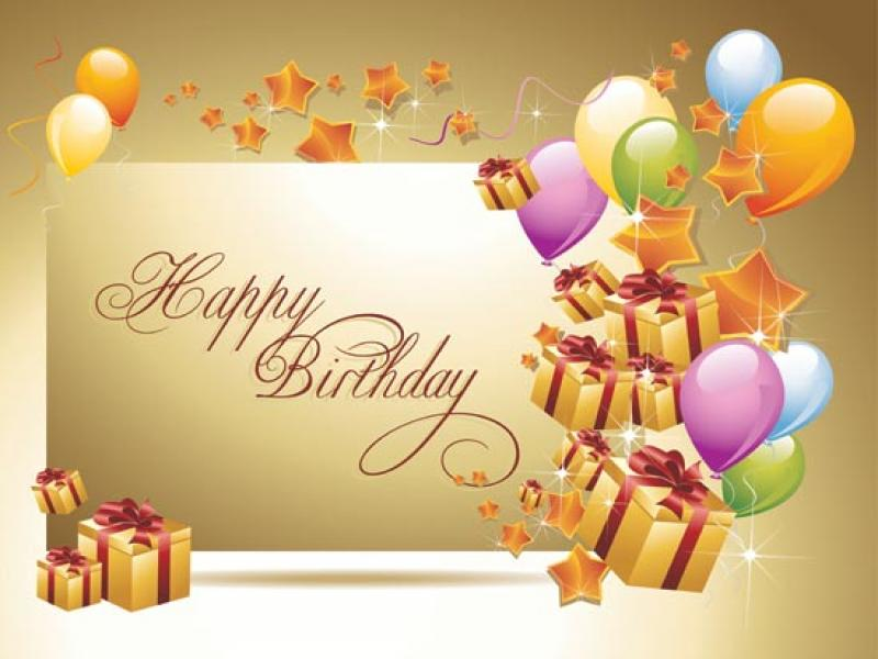 Free Happy Birthday Clip Art Backgrounds For Powerpoint